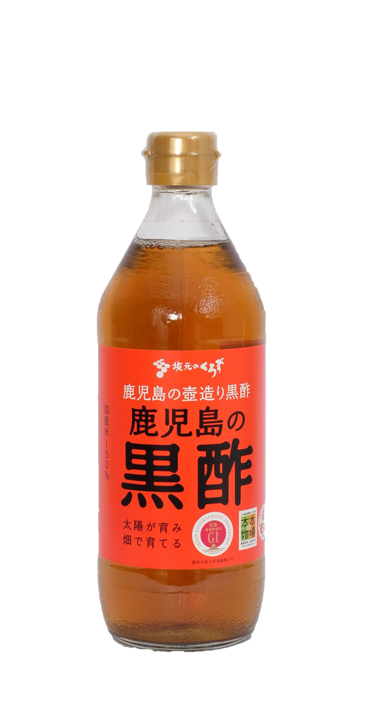 Kurozu Japanese Black Vinegar 500ml