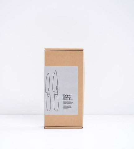 Pallares Solsona Kitchen Knife Set - Stainless Steel