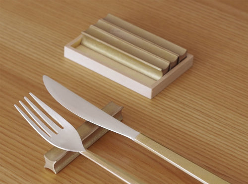 FUTAGAMI IHADA RYUSEI (Shooting Star) Cutlery Rest Set