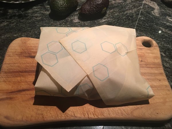 Reusable Beeswax Food Wraps Extra Large