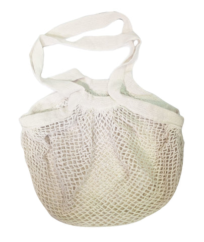 Unbleached Cotton String Shopping Bag