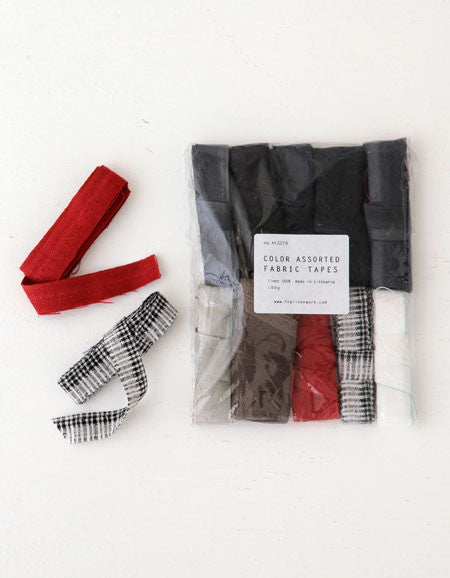 Fog Linen Work Fabric Tape Set