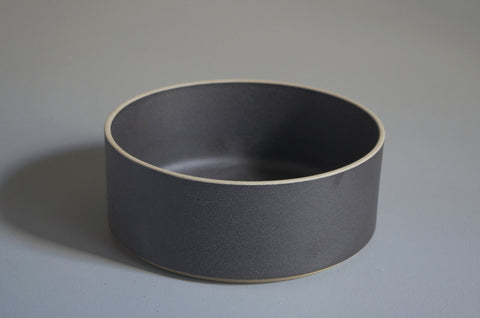 HASAMI BLACK TALL BOWL 185 X 72