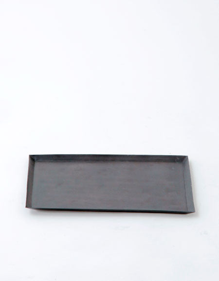 Fog Linen Work Metal Tray Rectangle