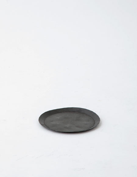 Fog Linen Work Metal Tray Round