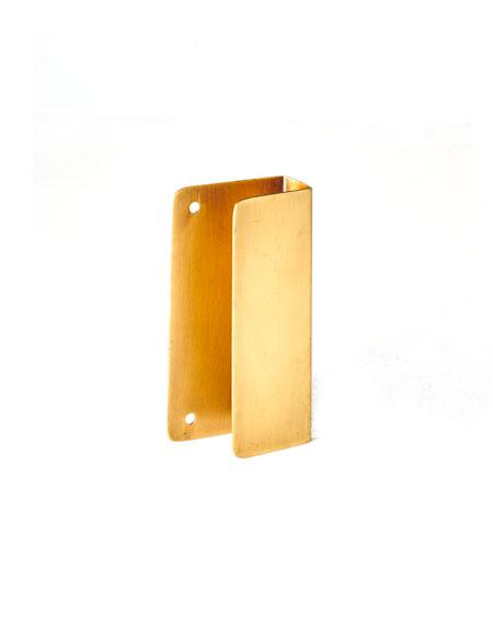 Fog Linen Work Brass Drawer Pull Handle