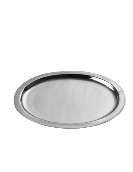 Fog Linen Work Steel Tray Oval