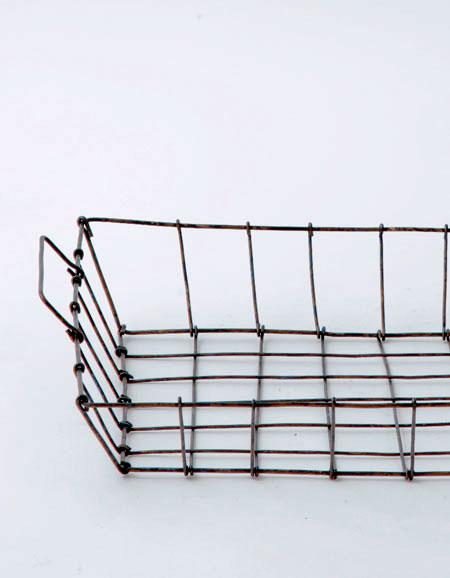 Fog Linen Work Desk Basket