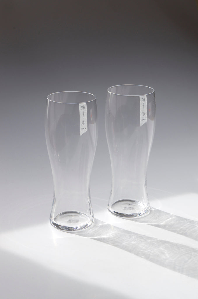 Toyo-Sasaki HS Usurai Beer Glass Set of 2