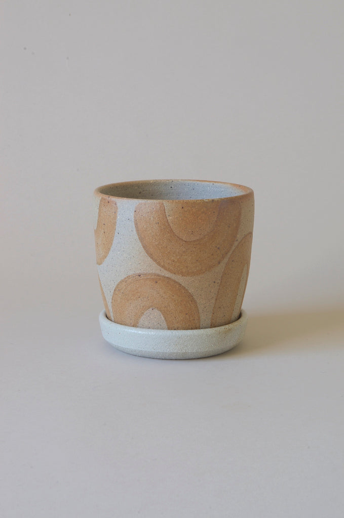 Sandra Bowkett Woodfired Planter and plate #7