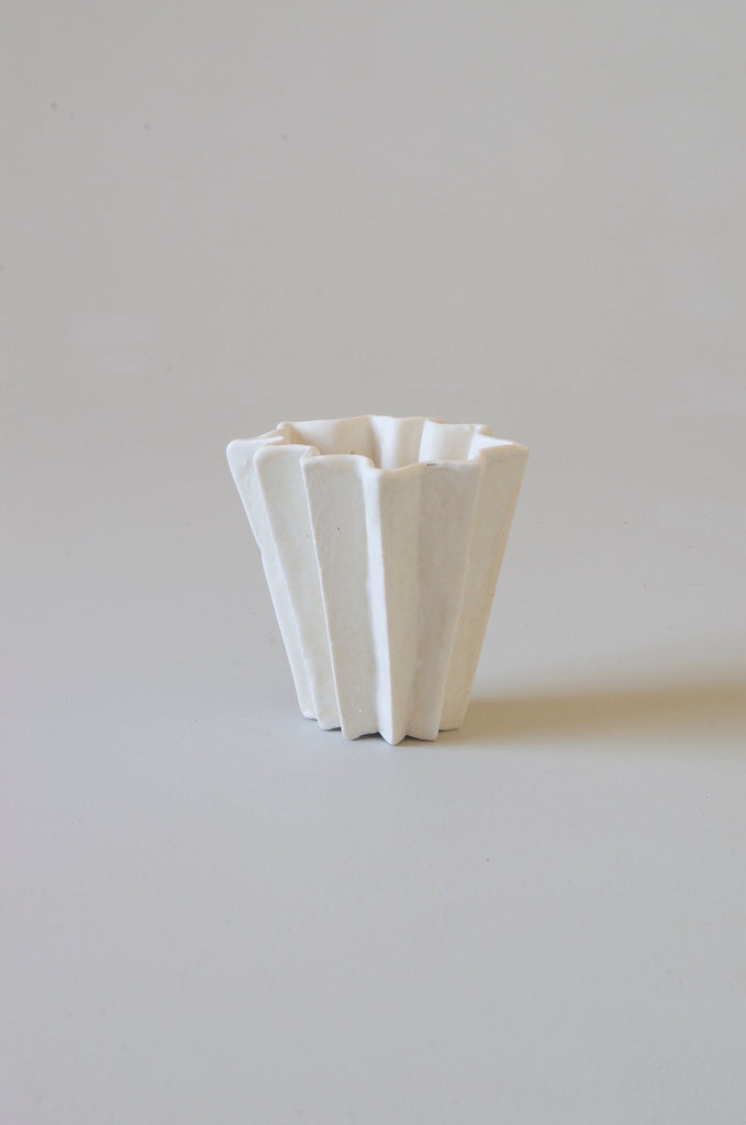Kirsten Perry Medium Folded Vase #8