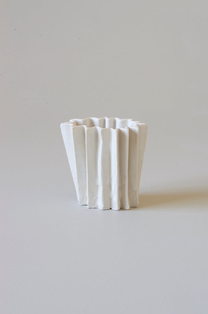 Kirsten Perry Medium Folded Vase #7