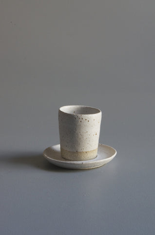 Wingnut & Co Espresso Cup & Plate Set