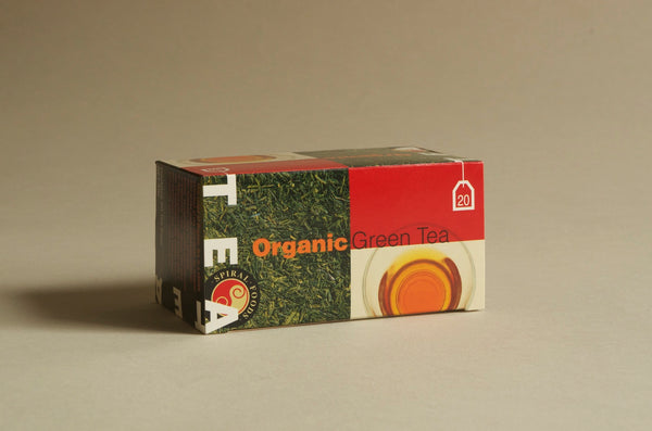 Organic Green tea 20x Teabags 40g