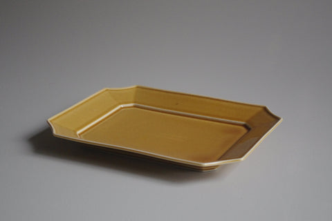 MIZU MIZU Rectangular Dish 19cm Light-Brown
