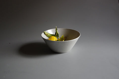 Tara Shackell Speckle Salad Bowl - Straight Side