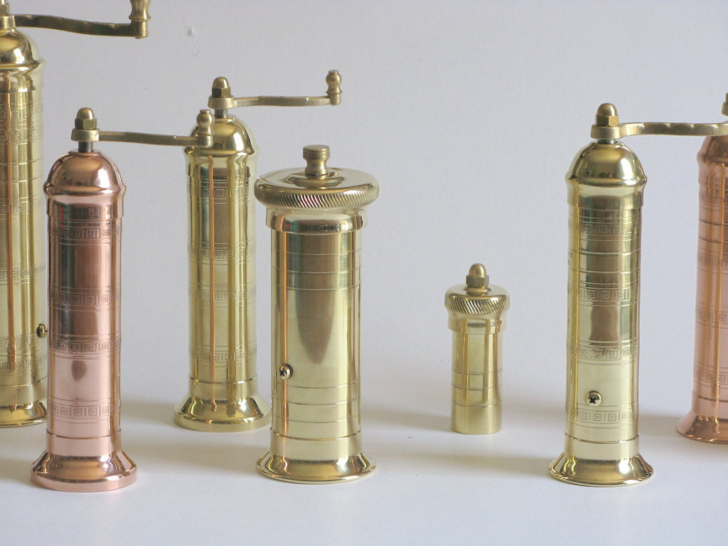 Brass Chef's Pepper Mill 502