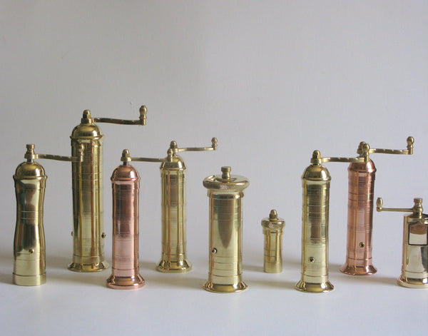 Brass Pepper Mill 105
