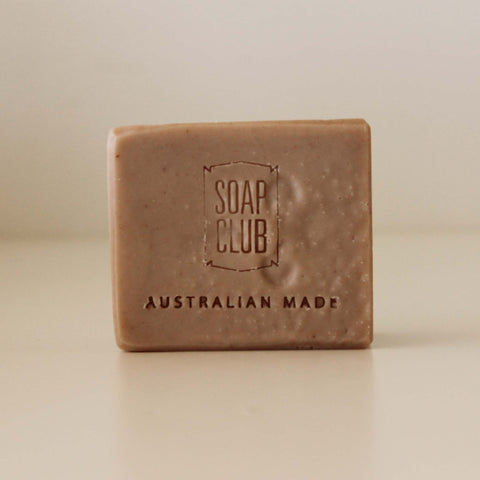Soap Club Rose Geranium Pink Clay Soap
