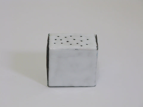 IRL040 Niamh Minogue 'Perforated Box' Copper, vitreous enamel