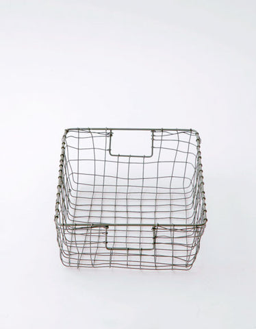 Fog Linen Work drawer basket