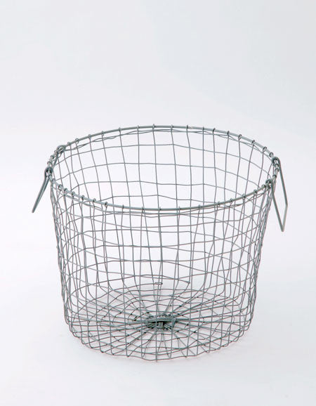 Fog Linen Work round basket - large