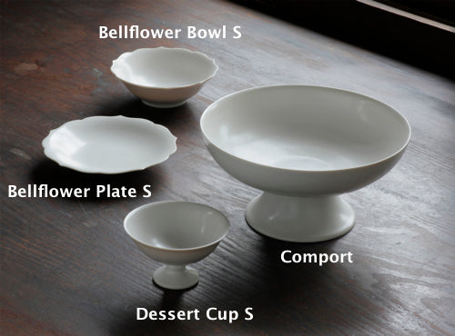 JICON Bellflower plate + bowl