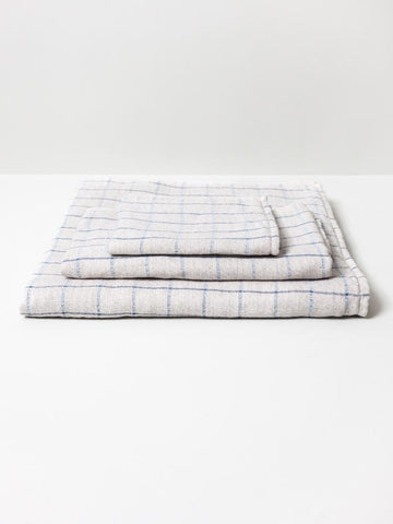 Graph Organic Cotton Imabari Towel - Coffee
