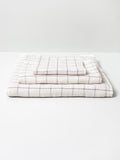 Graph Organic Cotton Imabari Towel - Earl grey