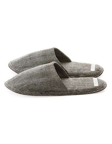 Fog Linen Work Linen Slippers