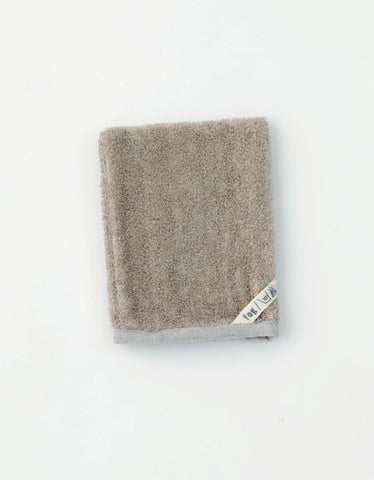 Fog Linen Work linen bath massage mitten