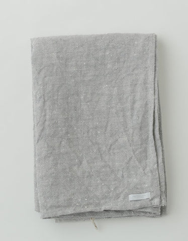 FOG LINEN WORK THICK CHAMBRAY LINEN BATH TOWEL