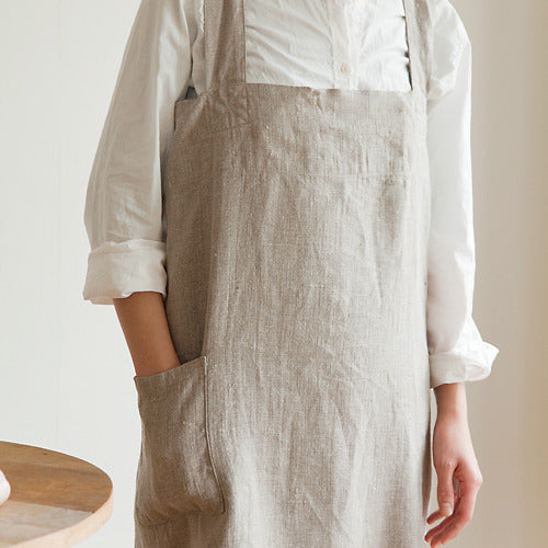 Fog Linen Work square cross apron