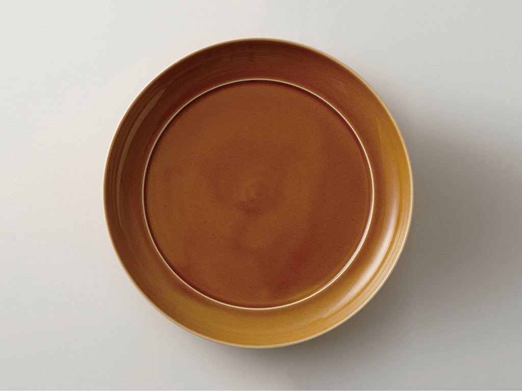 MIZU MIZU Round Dish 24cm Light-Brown