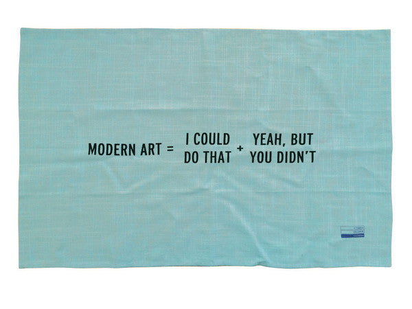 Modern Art teatowel x Craig Damrauer - New Math Collection