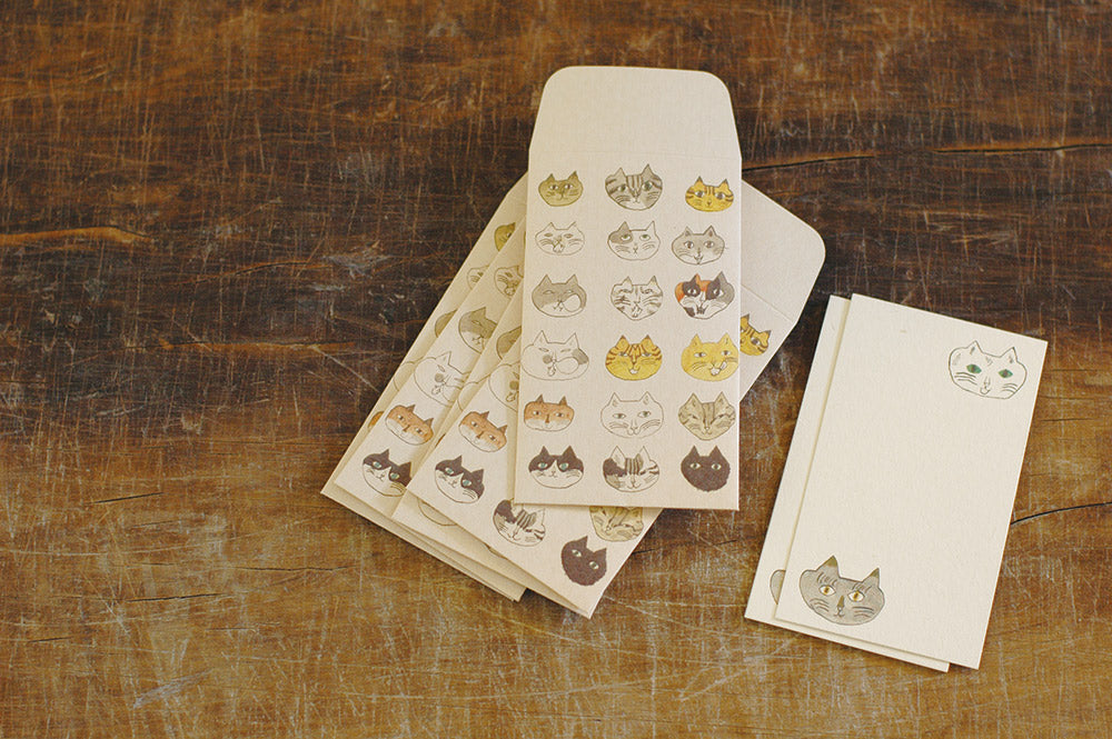 Toranekobonbon Mini Envelope + Card set