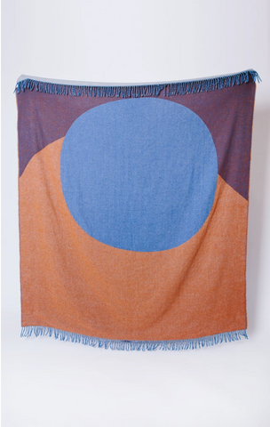Seljak Recycled Blanket - Lune