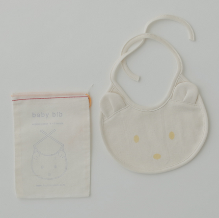 Fog Linen Work Organic Cotton Baby Bib