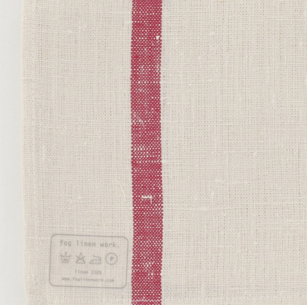 Fog Linen Work Lined Kitchen Cloth