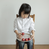 Fog Linen Work Kid's Tray Round