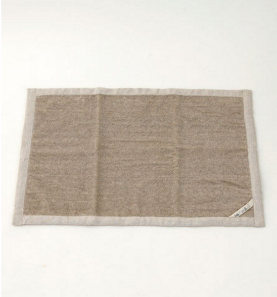 Fog Linen Work Linen Massage Mat