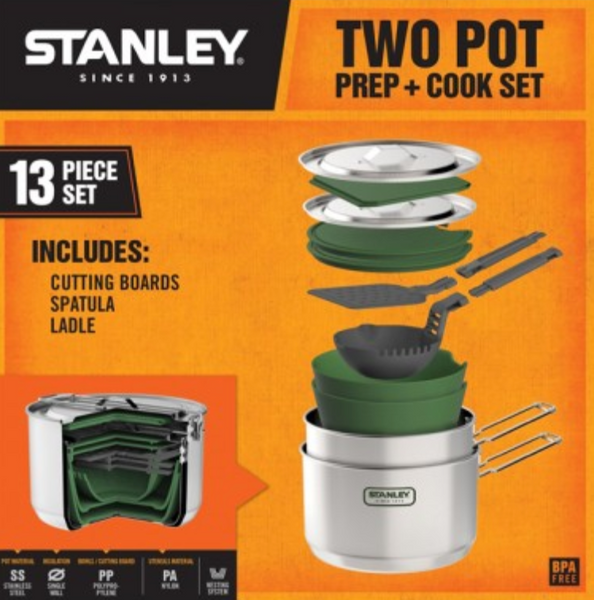 Stanley Adventure 1.5L Prep & Cook Set