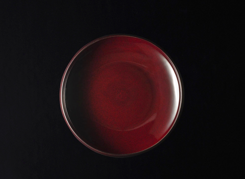 TSUDOI Tetsubachi Bowl with Candy Red Glaze