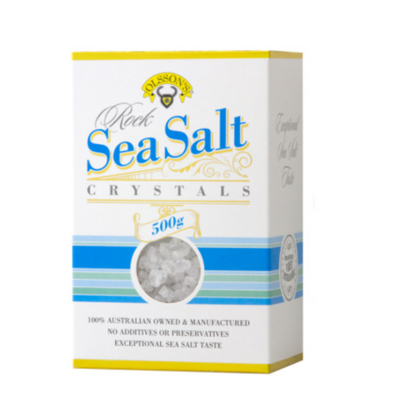 Olsson's Rock Sea Salt 500gm