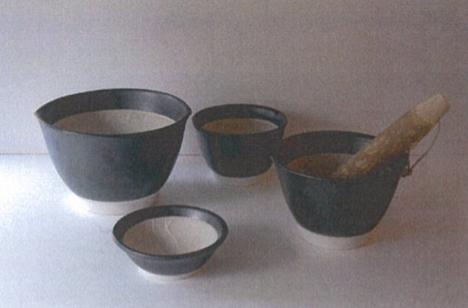 Mino ware Mortar and Pestle