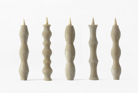 Takazawa Candle Nanao Set of 5