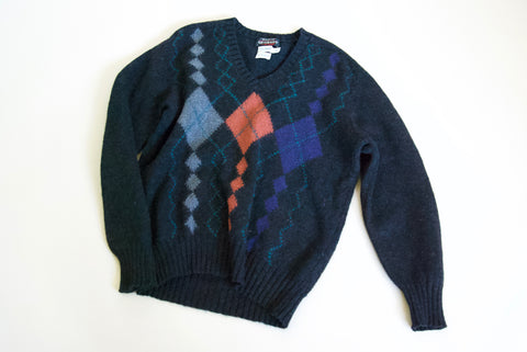Kitly Collected Shetland Intarsia Jumper