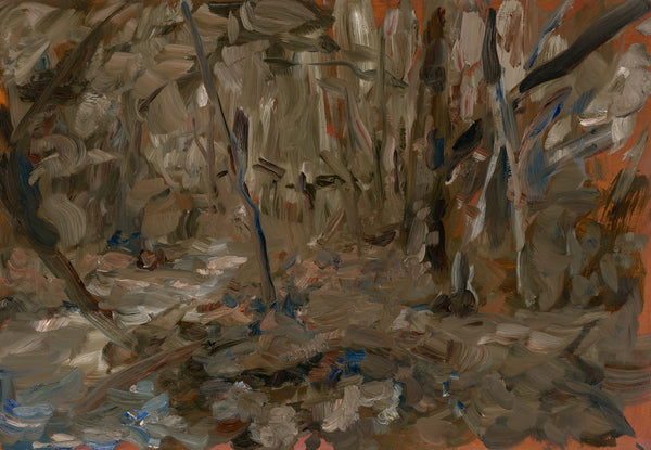 Paul Williams, Sunken Garden 9, 2014, 40.5cm x 60.5cm, oil on wood panel