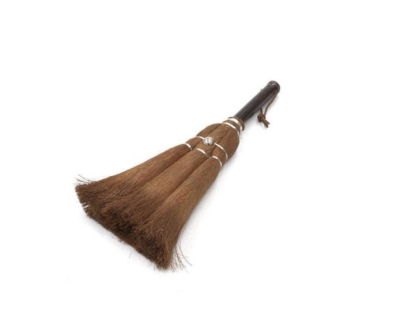 Takada Handy Broom with Black Bamboo Handle