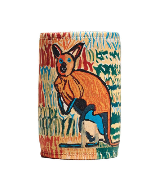 Kangaroo Stubby Holder x Arts Project Australia
